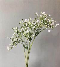 1 Faux Babys Breath Stem. Artificial Gypsophila Spray, Wild Flowers