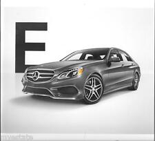 2015 15  Mercedes Benz E Class Sedan & Wagon  Original  brochure