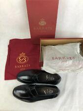 BARRATS 1890, Men's Boxed Black Leather Moccasin Shoes, SIZE 10, RRP £220