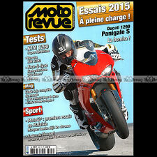 MOTO REVUE N°3997 DUCATI 1299 PANIGALE S YAMAHA XJR 1300 HARLEY 883 IRON 2015