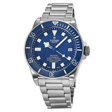 Новый Тюдор пелагосом, синий циферблат, автоматика титана мужские часы 25600 ТБ