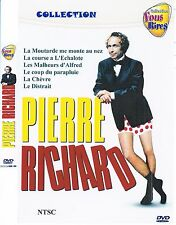 Pierre Richard Collection 2. French. MULTILANGUAGE.  6 movies