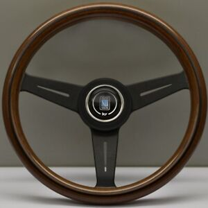 Nardi Classic Wood Steering Wheel 330mm with Black Spokes - 5061.33.2000
