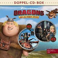 DRAGONS-AUF ZU NEUEN UFERN - DRAGONS-DOPPEL-BOX-FOLGEN 42+43  2 CD NEU