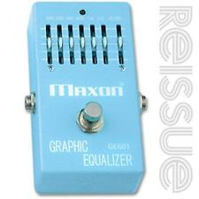 Maxon GE601 Graphic Equalizer Effect Pedal