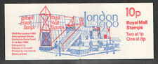 GB Folded Stamp Booklet FA11 LONDON 1980 EXHIBITION JANUARY 1980