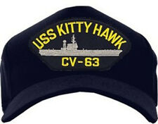 USS Kitty Hawk CV-63 Hat / U.S. Navy Battle Cat Baseball Cap