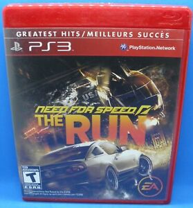 Need for Speed: The Run (Sony PlayStation 3, 2011) - GREATEST HITS edition