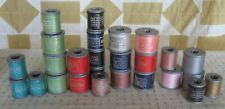 Molnlycke Sewing Thread Spools Assorted Colors Lot