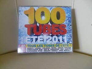CD /   COFFRET 5 CD / 100 TUBES 2011 ref 119820