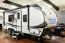 2019 Palomino SolAire 202Rb Rear Bathroom Ultra Lite Used Travel Trailer Sale