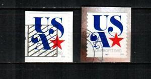UNITED STATES Scott's 5061-61p ( 2v ) USA and Star F/VF Used ( 2016 )