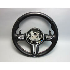 2014-2017 BMW X5 X6 M ///M Sports Leather Steering Wheel w Paddles and Heat OEM