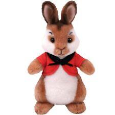 "Officiel TY Peter rabbit beanie babies Flopsy Plush Soft Toy - 8.5"""