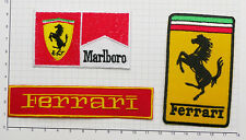 FERRARI Motorsport Patch Collection, Set of THREE Fully-Embroidered - #S17