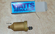 WATTS FV-4a REGULATOR HYDRONIC AUTOMATIC AIR VENT BLEEDER/ AUTOMATIC AIR BLEEDER
