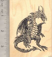 Dragon rubber stamp  K6901 WM