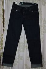 Abercrombie&Fitch Vintage Mens Low-Rise Slim Straight Jeans Dark Resin NEW 32x34
