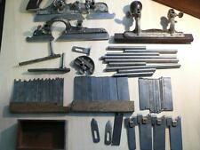 Antique Stanley No. 45 Combination Plane COMPLETE with LOTS of blades