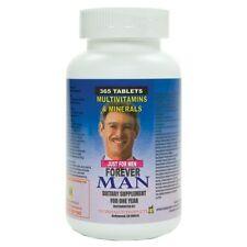 Forever Man Multivitaminas para hombre. 365 Tabletas para todo un año