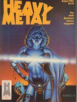 Heavy Metal August 1984 Sabella Fantasy Magazine 011417DBE2