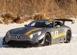 "RC Modell Mercedes-Benz AMG GT3 in 1:14 Länge 32cm ""Ferngesteuert 27MHz""  405072"