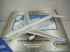 "Gemini Jets 400 Qatar Airways QR A330-200 ""2000s color"" 1:400"