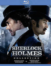 Sherlock Holmes/Sherlock Holmes: A Game of Shadows Blu-ray Disc 2015 2-Disc Set
