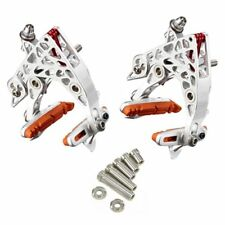 KCNC CB4 Calipers Brake Set (Front & Rear) , Silver