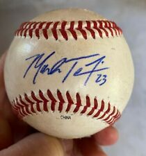 Mark Teixeira Autographed Game Used College Baseball Georgia Tech Yankees