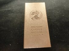 COPPER BAR 1 POUND- Premium Bars- RANDOM DESIGN  -OUR CHOICE-bullion