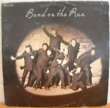 "PAUL MC CARTNEY (BEATLES)+ WINGS BAND ON THE RUN LP12"" POSTER PORT A PRIX COUTAN"