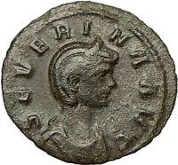 SEVERINA AURELIAN wife 275AD Ancient Roman Coin VENUS Love, fertility  i18155