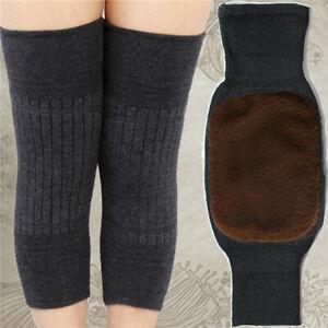 Support Knee Warmers For Men & Women Thermal Wool Knee-Pad 1 Pair Leg Warmers CH