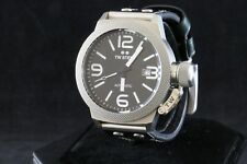 TW Steel Canteen Automatic Black Dial Leather Band Men's Watch - CS5
