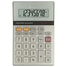 Sharp 2 Colour Printing Calculator 12-digit Fluorescent Display EL2607PGY