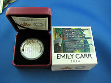 Canada 2014 Celebrating Emily Carr Totem Forest Painting $20 Pure Silver Proof