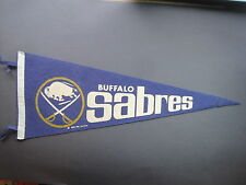 1970 / 1970/71 BUFFALO SABRES NHL HOCKEY PENNANT FLAG NICE!!