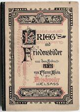Franco-Prussian War 1870 Battle of Wörth / Fröschweiler 1902 German Book