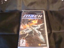 PSP M.A.C.H: MODIFIED AIR COMBAT HEROES (MACH) COMPLETE WITH INSTRUCTION BOOKLET