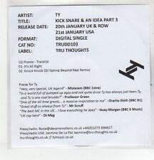 (EQ988) TY, Kick Snare & An Idea Part 3 - 2013 DJ CD