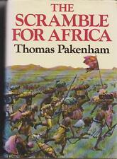 THE SCRAMBLE FOR AFRICA by THOMAS PAKENHAM hc/dj pbl in 1992