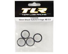 TLR243005 TEAM LOSI RACING 16mm Shock Nuts & O-rings: 8B 3.0