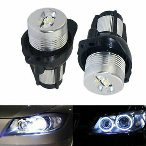 For BMW 3 Series E90 E91 Angel Eyes Halo LED Marker Light Bulb Canbus Error Free