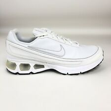the latest 3ae48 1c133 Nike Air Max Turbulence Plus SL Mens 12 Running Shoes White Metallic  317919-112