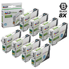 LD © Remanufactured Epson T126120 Set of 8 High Capacity Black Ink