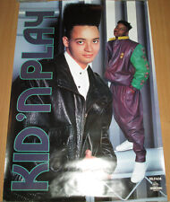KID 'N PLAY Funhouse, orig Select promotional poster, 1990, 24x36, VG+, hip-hop