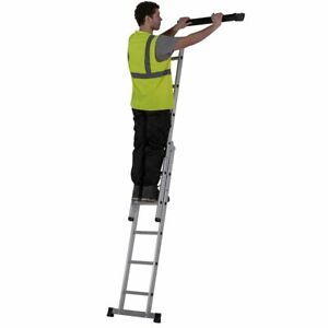 Werner 3 Way Combination Ladder 7101318 Step Extension