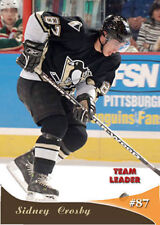 """Sidney Crosby (with Mario Lemieux) """"Team Leader"""" xx/54 Pittsburgh Penguins"""