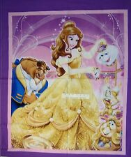 "35"" Fabric Panel - Disney Beauty & Beast Wallhanging Purple - Springs Cotton"